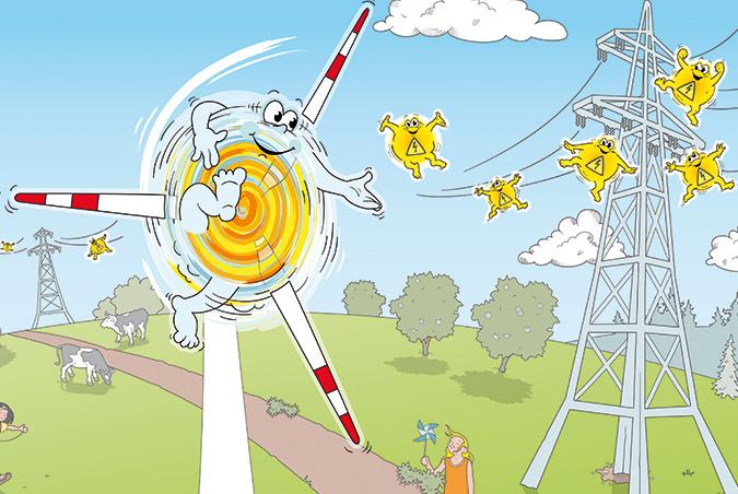 Beliebt Windkraft für Kinder | Projektentwicklung Wind | Leistungen XW25