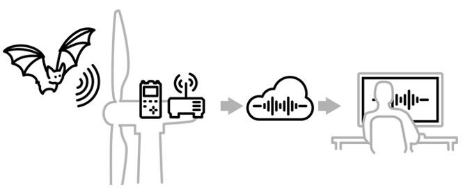 ABO Wind Bat Link System für die fernabfrage Ihrer Daten