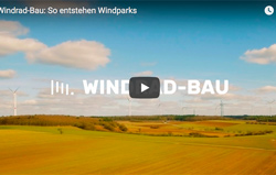 Windpark-Bau