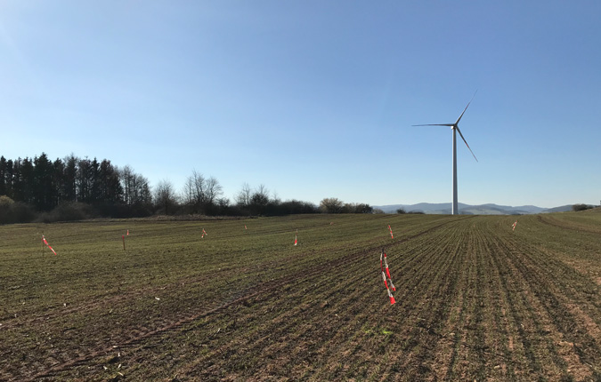 Windpark-Repowering in Adorf